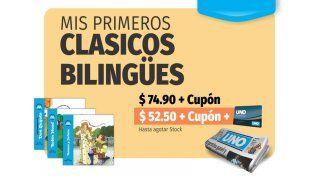 Este viernes, pedí con Diario Uno tu ejemplar de los Clásicos Bilingües
