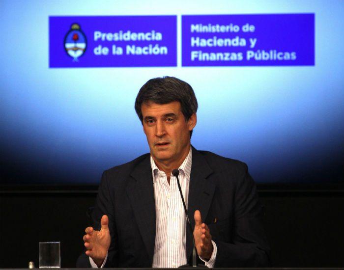 El Ministro de Finanzas y Hacienda habló de la pesada herencia del gobierno anterior.