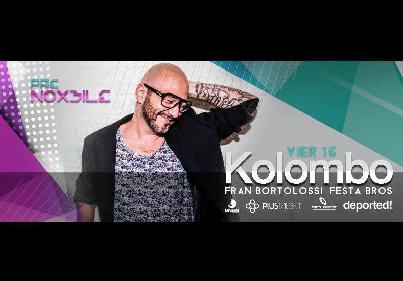 DJ Kolombo, electrónica de primer nivel de la mano de UNO Beneficios