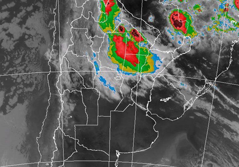 Rige un alerta por tormentas fuertes para el norte provincial