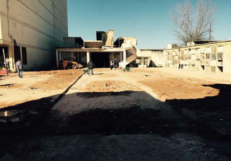 Sección 126. Así luce el espacio hoy. La municipalidad controla y trabaja en zonas aledañas / Foto: Gentileza Municipalidad de Santa Fe