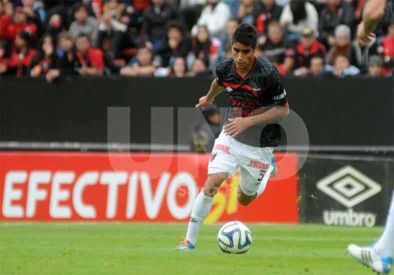 Gerónimo Poblete es una de las apariciones más importantes de las divisiones inferiores de Colón / Foto: José Busiemi - Uno Santa Fe