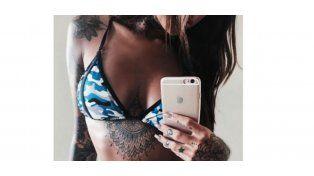 Candelaria Tinelli no para de mostrar su cuerpo en redes sociales