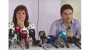 En Helvecia. Bullrich y Pullaro anunciaron los detalles de la detención de Cristian Lanatta y Víctor Schillaci / Foto: Gentileza Telam