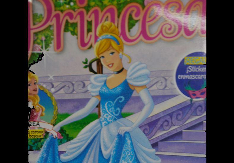 Pedí este martes opcional la revista Disney Princesas