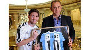 Lerche felicitó a Messi y se burló también de la Policía de Santa Fe