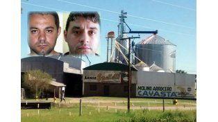 Cristian Lanatta y Víctor Schillaci cayeron en un molino arrocero tras haber tomado un rehén