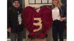 Diego sorprendió a Rocío por el aniversario