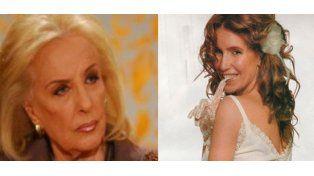 Las chicanas entre Mirtha Legrand y Florencia Peña