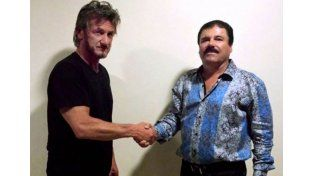 El actor Sean Penn entrevistó a El Chapo Guzmán para la revista Rolling Stone