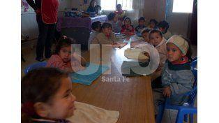 En 2015. Se agregaron 20 secciones de cuatro años por lo que pudieron sumarse 400 nenes y nenas. Foto: josé Busiemi / Diario UNO Santa Fe