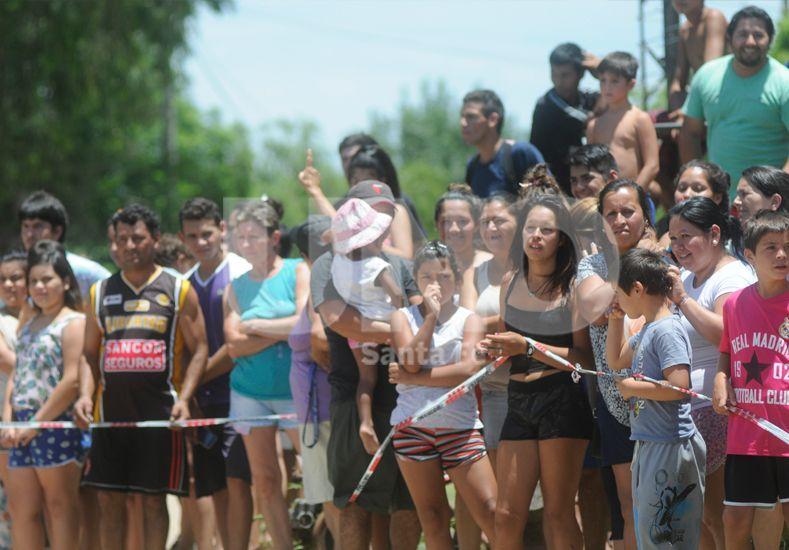 Tensión. Cayastá en el centro de la escena nacional.. Foto: Juan Baialardo / Diario UNO Santa Fe