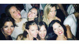 El cumpleaños de Pampita: Salida con amigas