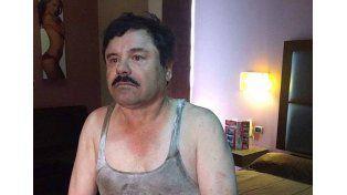 Las primeras imágenes del Chapo Guzmán detenido