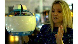 Una periodista española rompió el dron más seguro del mundo