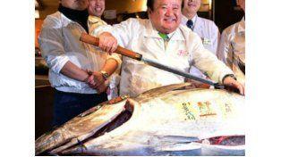 El atún rojo más caro del mundo se vendió en Japón y costó 118 mil dólares