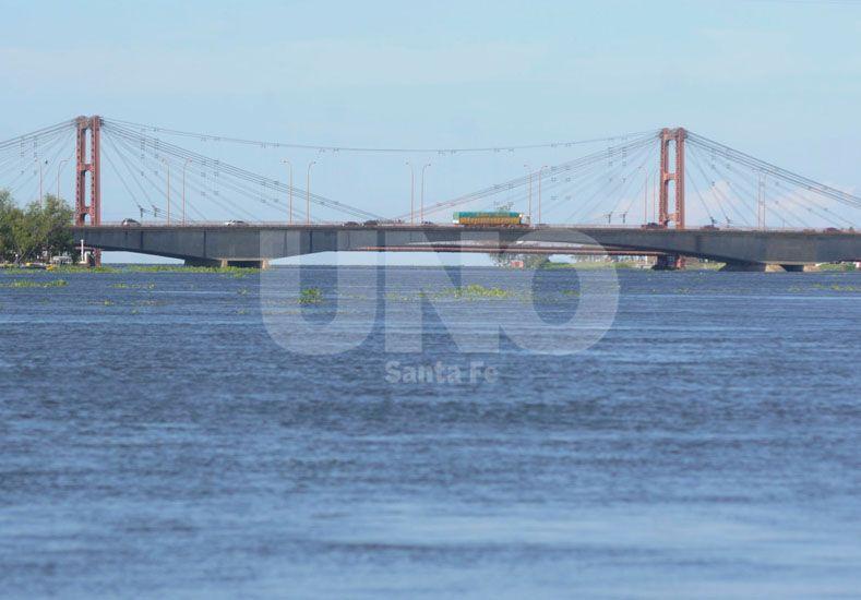 La panorámica del Puente Colgante