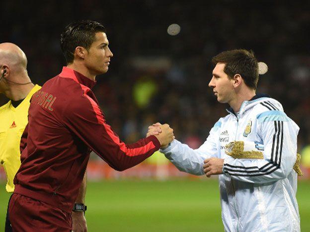En una le tenía que ganar: Ronaldo superó a Messi
