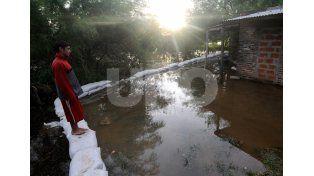 El río Paraná registró una baja en el puerto local y hay 521 personas evacuadas