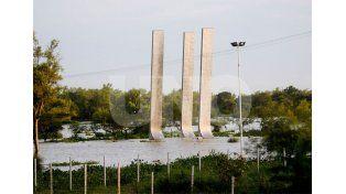 Emergen. El Parque de la Constitución y uno de sus símbolos característicos