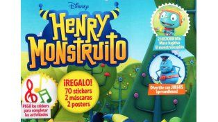 Pedí este martes la revista Henry Monstruito de Disney Junior