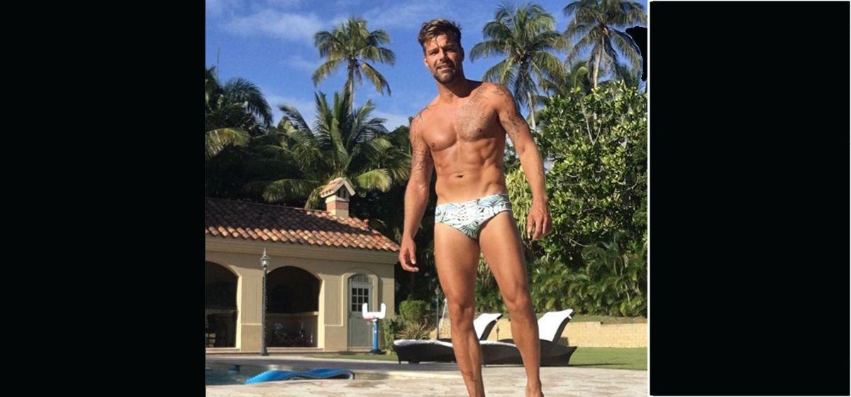 Ricky Martin y una foto que hizo delirar a sus fans