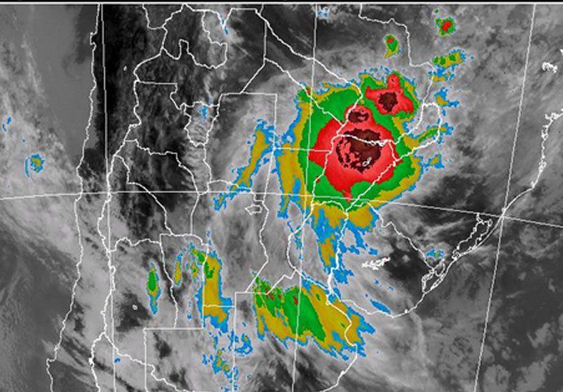 Imagen radar SMN.