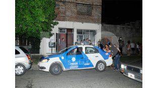 El lugar donde fue encontrado el cuerpo de Rodríguez / Foto: Manuel Testi - Uno Santa Fe