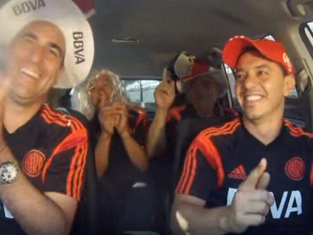 Divertido video: Gallardo y sus jugadores, como nunca los viste