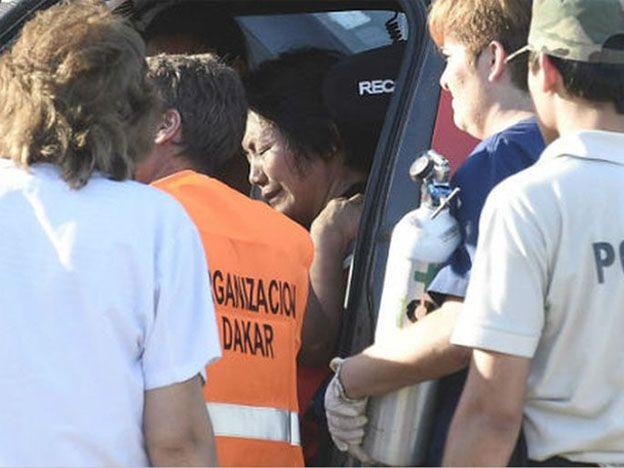 Trágico accidente del Dakar en el primer día