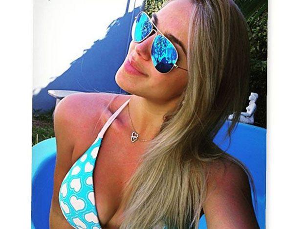 La novia del delantero de Boca que explota las redes