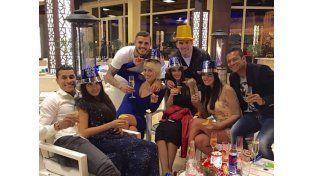 Más fotos de las vacaciones de Icardi y su familia