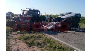 Al menos cuatro muertos por un choque en Santiago del Estero (Foto: Nuevo Diario).