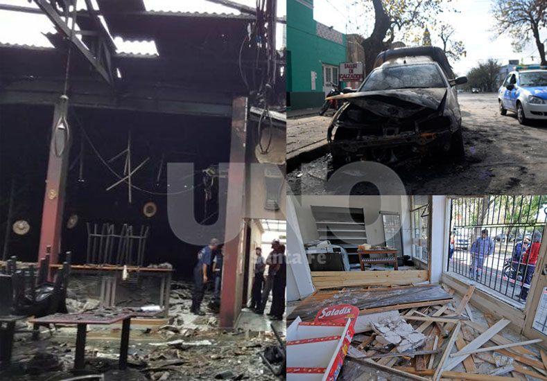 Santa Fe, una ciudad impactada por las llamas y las explosiones