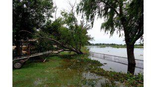 Estable el Paraná en Chaco y aguardan que siga su descenso