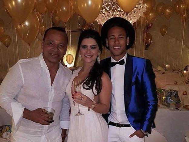 Neymar cerró el año con una fuerte compañía