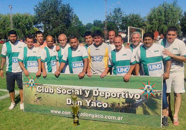 Agencia Aguirre se consagró campeón de la zona B2 en Don Yaco