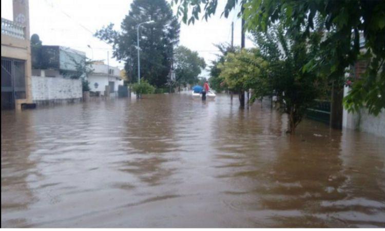 El río Uruguay afecta a ciudades importantes como Concordia