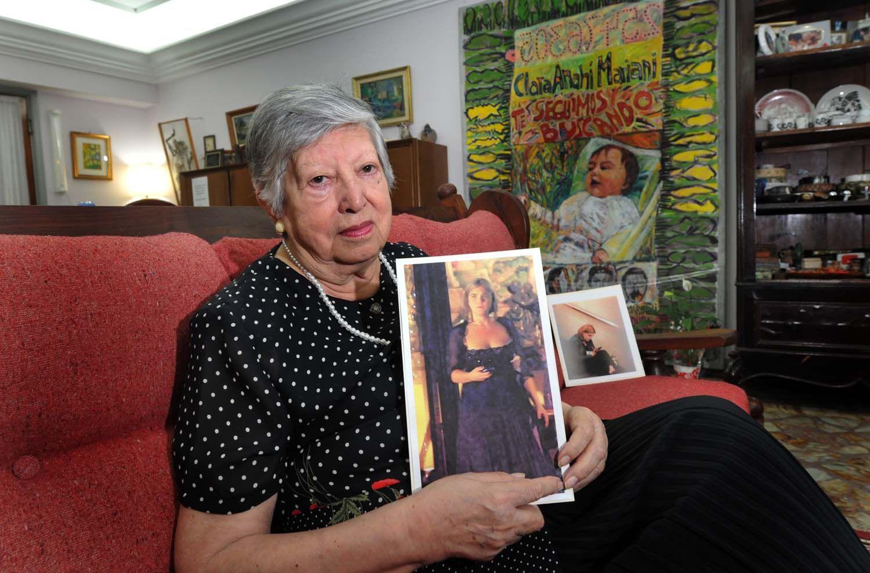 """La fundadora de Abuelas de Plaza de Mayo María Isabel """"Chicha"""" Chorobik de Mariani"""