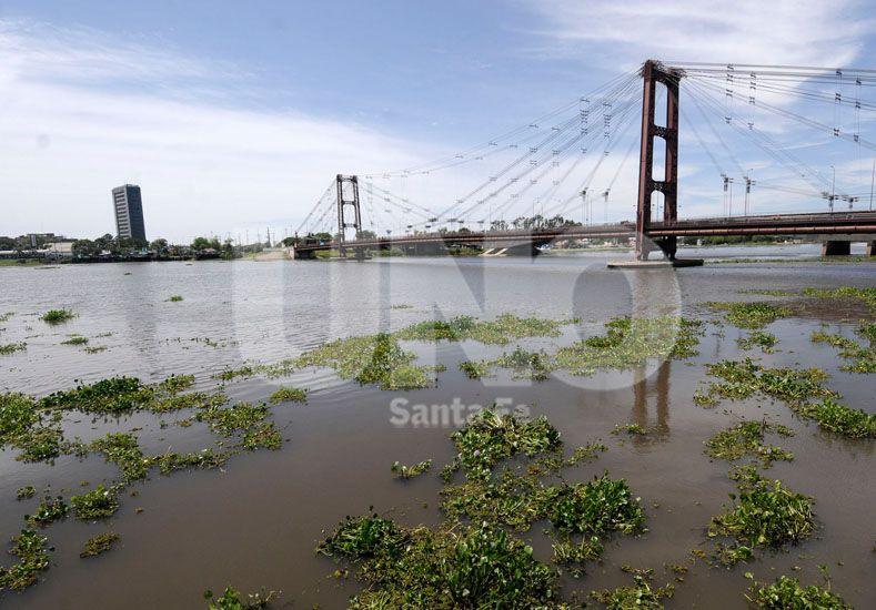 Crecida: la altura del río superó el nivel de alerta y ya mide 5,40 metros en el puerto local