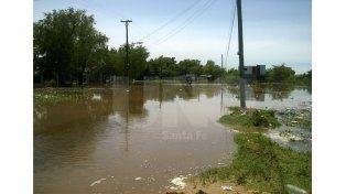 Así está el camino de La Vuelta del Paraguayo.