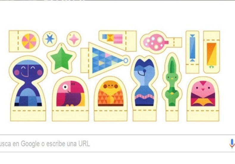 Google desea ¡felices fiestas! con un doodle