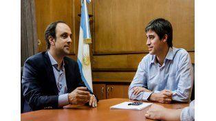 Adrián Pérez recibió a la conducción nacional de la UCR por la reforma política