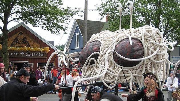 ¿Eh?… La Iglesia del Monstruo del Espagueti Volador celebrará bodas en Nueva Zelanda