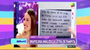 En Chile analizaron la letra de Pampita y hablaron del complejo del pequeño rey