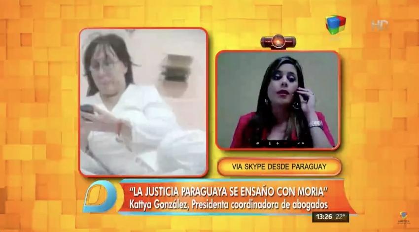 "Moria sigue presa: ""Es vergonzoso el vedetismo de la Justicia paraguaya"""