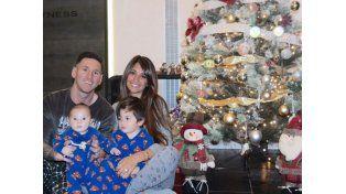 Messi y su familia pasarán la Navidad en Rosario