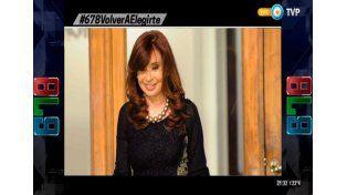 ¿Cristina irá al último programa de 678 en la TV Pública?