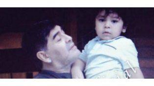 Encuentro concretado: Maradona visitó a Dieguito Fernando