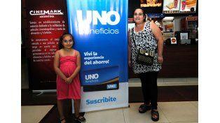 Celeste De Luca y Valentina Romero / Diario UNO: Mauricio Centurión